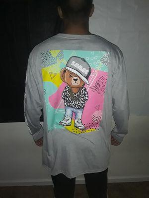 Fresh Bear wearing Jordans savage t shirt for Sale in Charlotte, NC