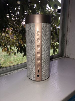 Rose gold Bluetooth speaker with Alexa for Sale in Lakewood, WA