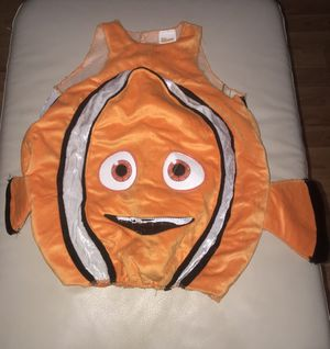 Finding Nemo Costume S(4-6) for Sale in Fort Worth, TX