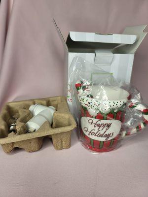 Happy holidays mini scentsy wall plug wax warmer for Sale in Portland, OR