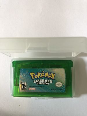 Pokémon Emerald Nintendo Game Boy Advance for Sale in South Gate, CA