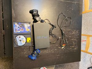 PS2 with two controllers and Final fantasy 5 for Sale in Woodstock, GA