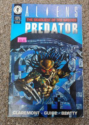 Aliens Predator Deadliest of Species 1993 for Sale in Burlington, NC