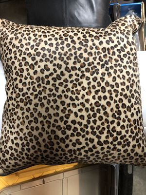 Leather decorative pillows for Sale in San Jose, CA