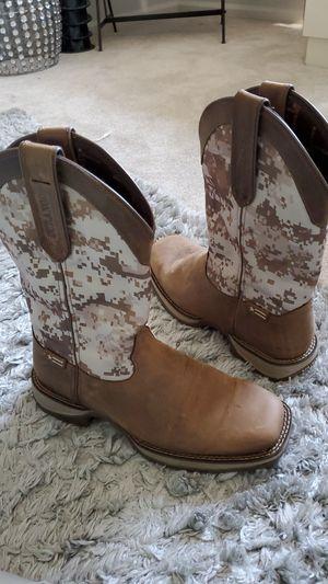 Rebel Durango Cowboy Boots Never broken in for Sale in Upper Gwynedd, PA