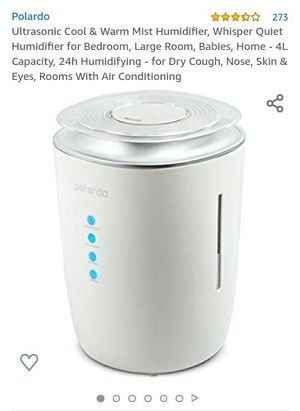 Polardo Ultrasonic Air Humidifier for Sale in Pomona, CA