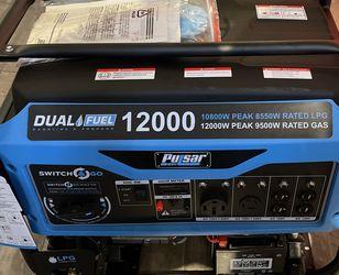 Pulsar Generator Dual Fuel 12000W for Sale in Renton,  WA