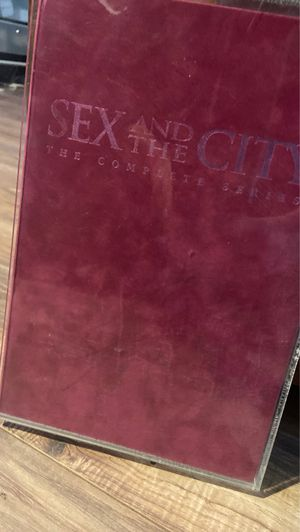 Sex and the city the complete series for Sale in Sacramento, CA