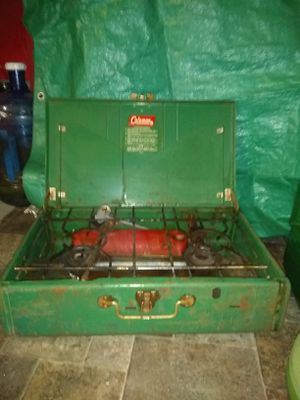 Vintage coleman camping stove for Sale in Oceanside, CA