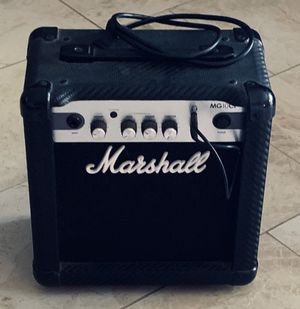 Marshall Amplifier MG10CF Amp/Input Series Guitar Combo for Sale in Parma Heights, OH