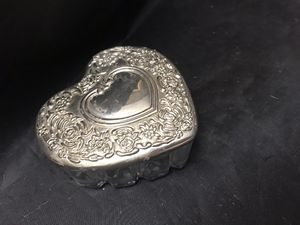 Vintage Silver Plated Heart Trinket Box #2 for Sale in Coolidge, AZ