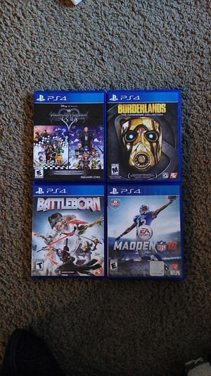 PS4 Game Lot for Sale in Austin, TX