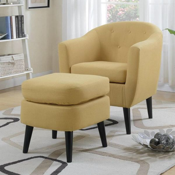 Chair with ottoman on sale 🛋🎈@ Elegant Furniture 🛋🎈