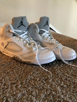 Air Jordan 5 Retro 'Metallic White' Size 13 for Sale in Atlanta, GA