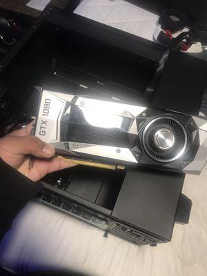 Nvidia GTX1080 8GB Founders edition for Sale in Santa Ana, CA
