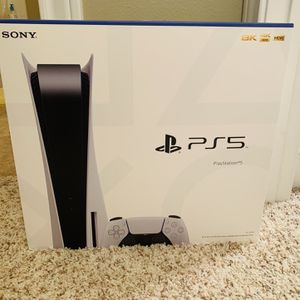 Playstation 5 Disc Edition PS5 for Sale in Houston, TX