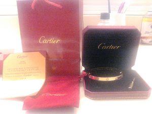 Love bracelet (gold or silver) for Sale in Orlando, FL