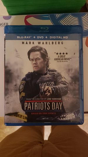 Patriot's Day Blu-Ray/DVD combo for Sale in Farmville, VA