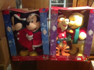 Disney door greeters. Pooh and Mickey for Sale in Cleveland, OH