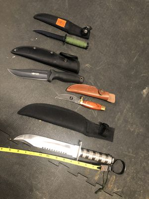 Hunting knifes for the kitchen out doors for Sale in Buckley, WA