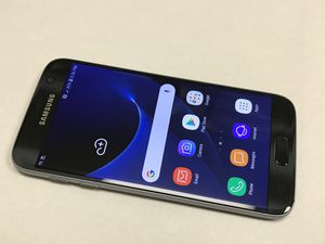 Excellent Unlocked Samsung Galaxy S7 Black in great condition. Works Verizon, Tmobile, metro pcs, and overseas. Comes with charger. 170 cash firm for Sale in San Francisco, CA