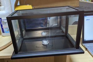 Full size football display case for Sale in Boca Raton, FL