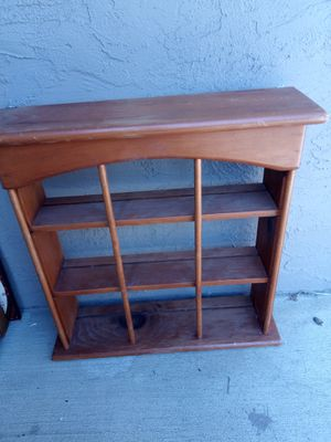 Wooden Wall Decor Shelving Unit for Sale in Concord, CA