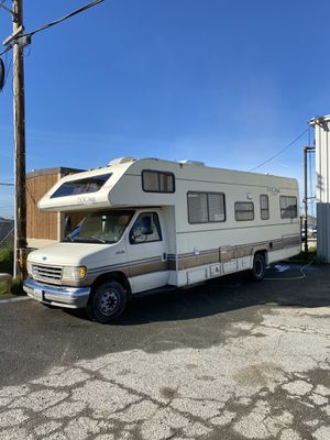 1994 ford rv made by tioga in good shape everything works for Sale in Pittsburg, CA