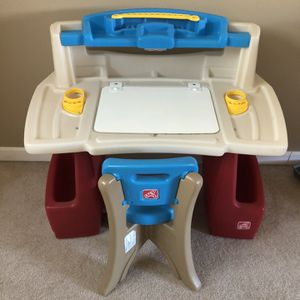 Step 2 Dry Erase Color Table/desk for Sale in Beaverton, OR
