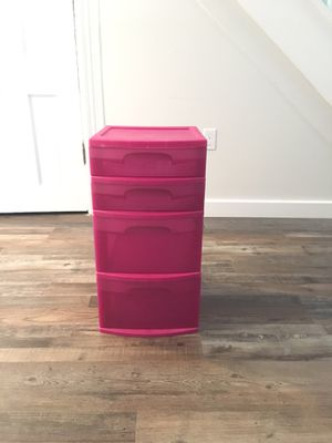 Plastic storage drawers for Sale in Tacoma, WA