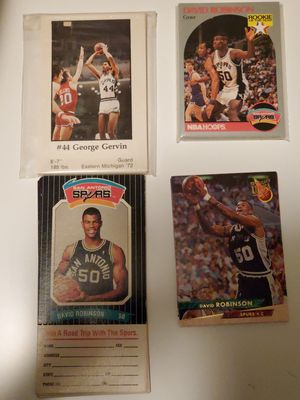 4 San Antonio Spurs Basketball Card Sets for Sale in San Antonio, TX