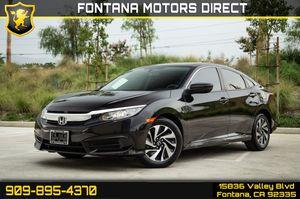 2017 Honda Civic Sedan for Sale in Fontana, CA