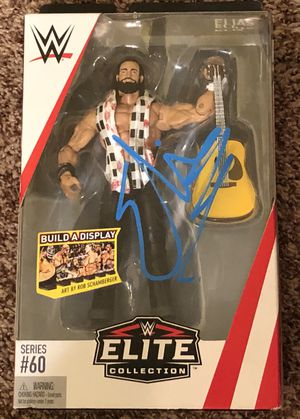 """Mattel WWE Elite Collection Series #60 """"Elias"""" Action Figure Signed Dog *NEW for Sale in Tomball, TX"""