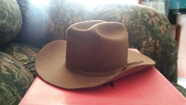 Stetson womens hat size 6 5/8