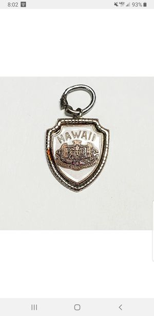 Vintage Hawaiian Charm Sterling Silver & White Enamel Fort Charm for Sale in San Jose, CA