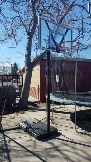 Portable basketball hoop for Sale in Denver, CO