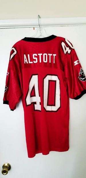 Mike Alstott Large Starter Tampa Bay Bucaneers Jersey in Excellent Condition! for Sale in Braintree, MA
