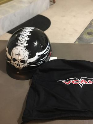 VCAM XL Motorcycle Helmet, Model V531, New with helmet cover for Sale in Lawrenceville, GA