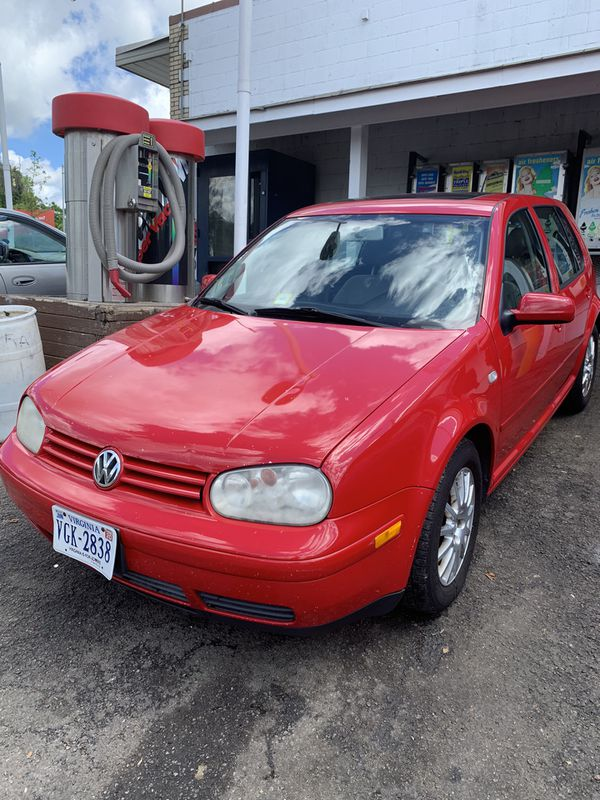 2004 Volkswagen Golf with 152K on it. Needs nothing! $2500