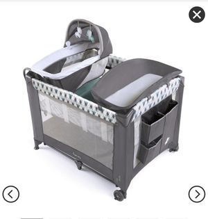 Play Pen + changing table for Sale in Washington, DC