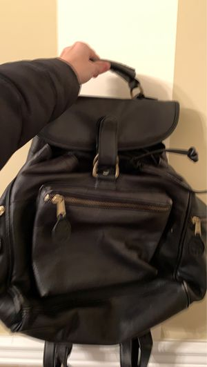 FRYE Black leather backpack for Sale in Freeport, NY