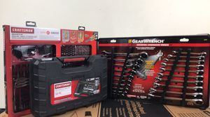 Holiday Craftsman/gear wrench tool sets for Sale in Houston, TX