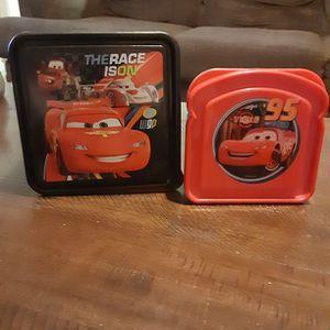 Kid's Pixar's Cars Lunch Box & Sandwich Box Set for Sale in Bristol, CT