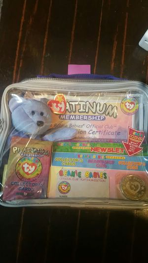 Beanie baby unopened 1999 for Sale in Philadelphia, PA