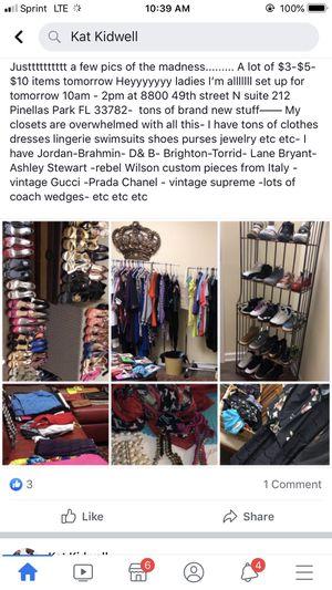 Plus Size Clothes - shoes - purses- Jewlery for Sale in Pinellas Park, FL