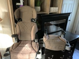 EvenFlow Car seat/Booster Seats (set of two) for Sale in Willow Grove, PA