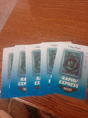 I have 5 bus passes new for Sale in Phoenix, AZ