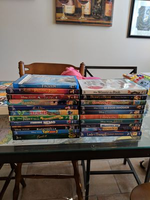 21-Movie Disney DVD Collection for Sale in Silver Spring, MD