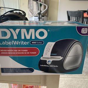 Dymo Label Printer for Sale in Riverside, CA