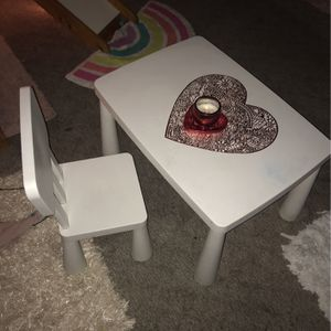 Toddler Table With 1 Chair for Sale in Norwalk, CA